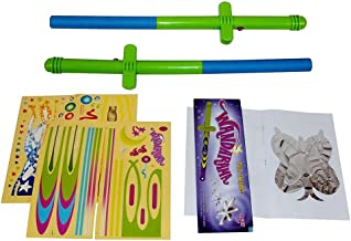 Flying Toy Wand. Flying Toy For Kids, Magic Wand Levitation Stick with Flying Toy Shapes - Set of 2. Cheap Toys For Fun, Cool Toys For Fun.