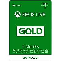 3-Months Microsoft Xbox Live Gold Membership (Digital Code) + 3-Months Microsoft Xbox Live Gold Membership (Digital Code)