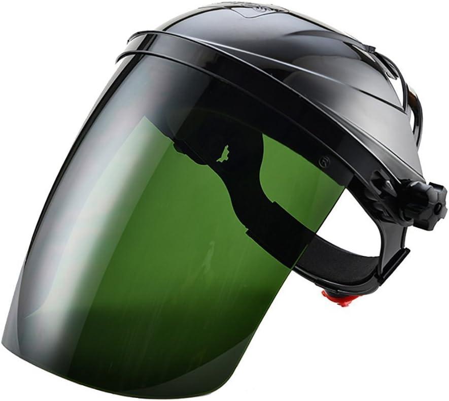 Upchenli Máscara De Soldadura Máscara Antivaho Máscara De Soldadura Casco Antisalpicaduras Protección Verde