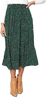 Skirts Women's Fashion Versatile Flower Print Summer Skirt Pleated Skirt Feast Clothing Women Trendy Pockets Party Outdoor...