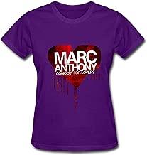 KUYF Hot Latin Marc Anthony Concert For Lover 2016 T Shirt For Women