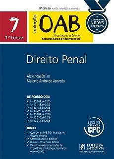 Direito Penal. 1ª Fase - Volume 7. Coleção OAB
