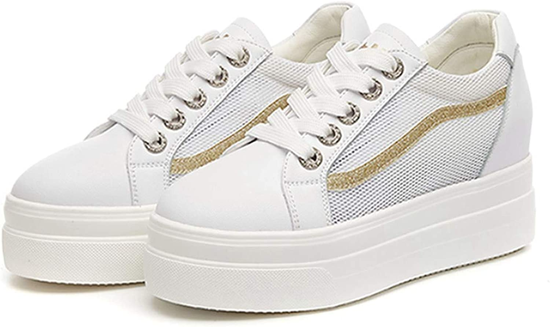 DOSOMI kvinnor Wedge skor Platform Mes Thick Sole Sole Sole hög klack Hidden Footwear mode Wedge skor  bästa mode