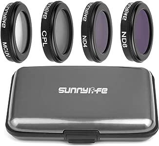 NEWZCERS Camera Lens Filter Set Accessory Lens Protector for DJI Mavic...