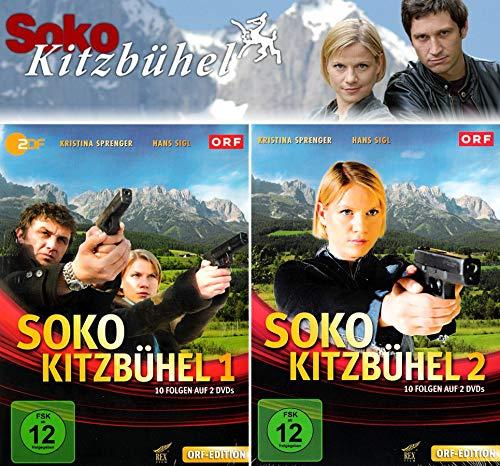 SOKO Kitzbühel - Box 1+2 (4 DVDs)