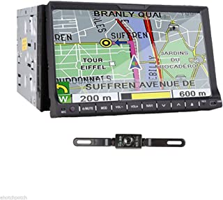 TOCADO Double 2 Din Car Stereo with Backup Camera 7
