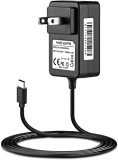 IBERLS DC 15V 2.6A USB-C (Type C) PD Wall Fast Charger Replacement for Nintendo Switch Portable Power Cable, Compatible with Nintendo Switch/Switch Dock/Pro Controller, Support TV Mode