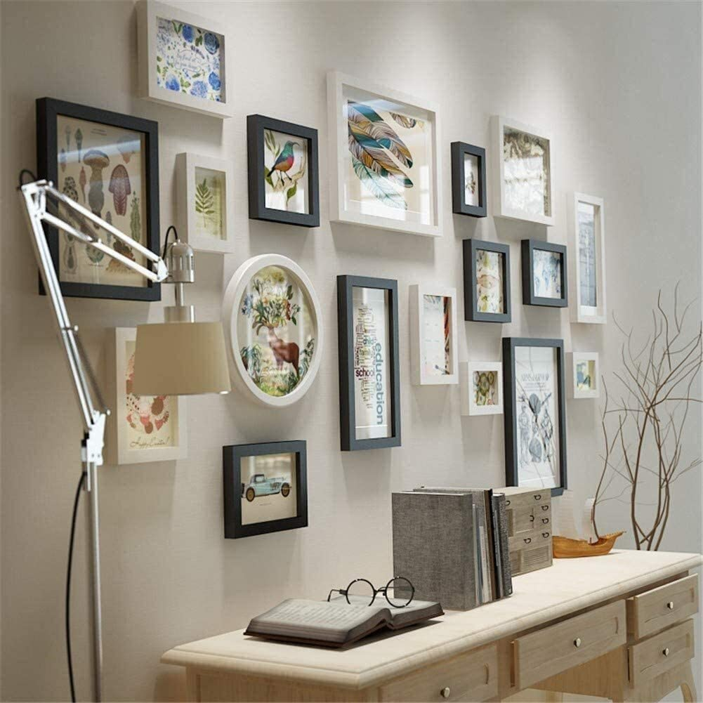 Sales for sale COLOM depot Multiple Photo Frame Collage White and Pictu Black