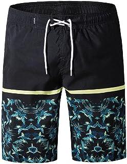 Yililay Men's Beach Shorts Swim Trunks Casual Surf Quick Dry Board Shorts Casual Home Wear Men Pajamas XXL