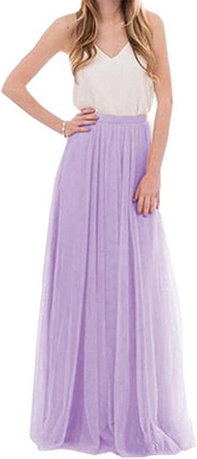 Future Girl Women's Maxi Skirts High Waist Holiday Formal Skirt