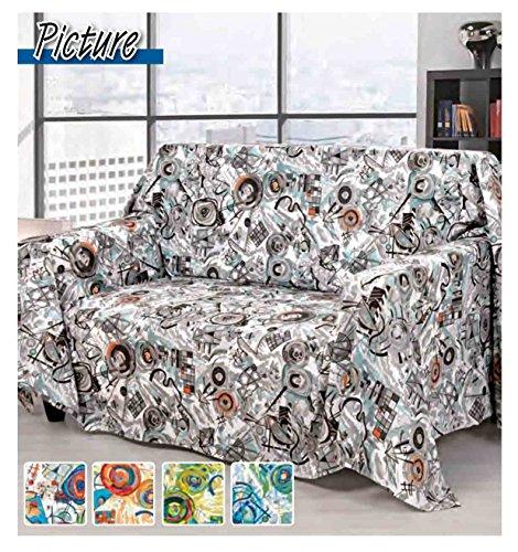 CASA TESSILE Picture intérieur Tissu (différentes Tailles) - Beige, UneLit 1 Place