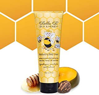 BELLA B Silk & Honey 8 oz - Pregnancy Safe Moisturizing Lotion - Made with Natural Ingredients - Use Twice Daily for Mois...