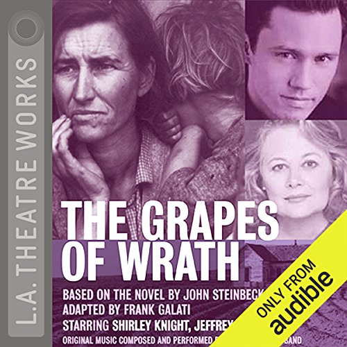 The Grapes of Wrath (Dramatized) audiobook cover art