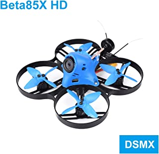BETAFPV Beta85X HD 4S DSMX Brushless CineWhoop Quadcopter with F4 V2 FC BLHeli_32 16A ESC Turtle V2 Camera OSD Smart Audio 5000KV 1105 Motor XT30 Cable for Cine Whoop Drone FPV Racing