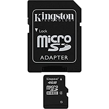 . Professional Kingston 16GB MicroSDHC Card for Pantech Breeze IV Smartphone with custom formatting and Standard SD Adapter. Class 4