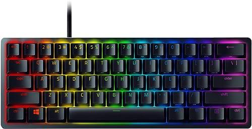 Razer Huntsman Mini 60% Gaming Keyboard: Fastest Keyboard Switches Ever - Clicky Optical Switches - Chroma RGB Lighti...