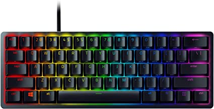 Razer Huntsman Mini 60% Gaming Keyboard: Fastest Keyboard Switches Ever - Clicky Optical Switches - Chroma RGB Lighting - ...