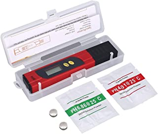 Zinniaya Medidor de pH Digital LCD 0-14PH Examinador de la Pluma Exactitud 0.01 para