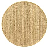 alfombra redonda yute 200