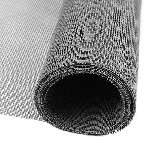 DIY網戸ネット 張替え防虫網 グラスファイバー製網戸 灰色 120*250cm