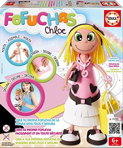 Educa Borrás-16114 Muñeca, Multicolor (16114)