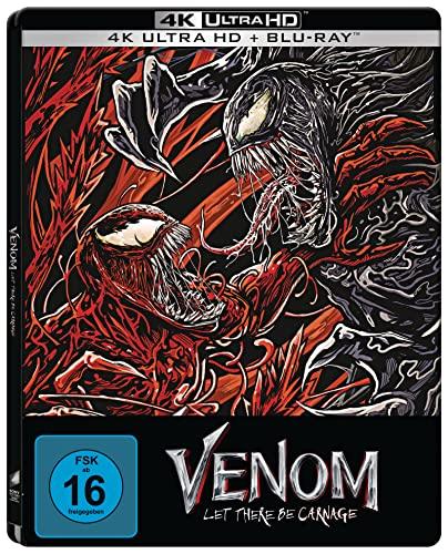 Produktbild von Venom: Let There Be Carnage - (4K UHD + Blu-ray Limited Steelbook) exklusiv bei Amazon.de