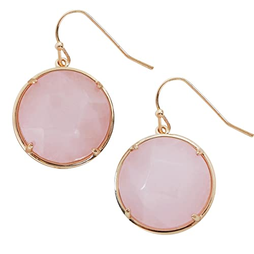 eaced5ed3 Created Gemstone Dangles - Statement Dangling Gold-Tone Drop Earrings for  Women