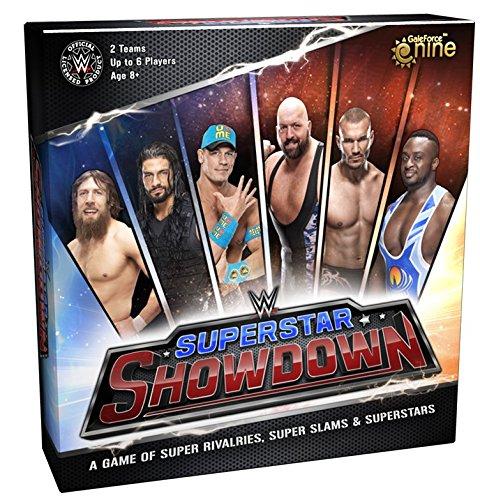 WWE Superestrella Showdown The Juego De Mesa
