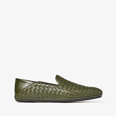Bottega Veneta Fiandra Intrecciato Loafer (Borneo) Men