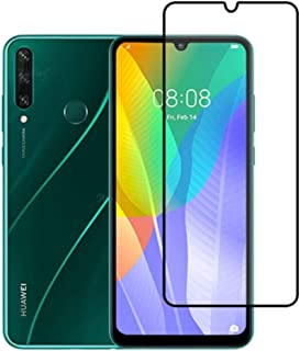 FanTing for Huawei Y8p Screen Protector,[9H Hardness,Full Coverage,No bubbles and fingerprint],Scratch-resistant high-qual...