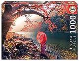 Educa- Amanecer en El Río Katsura, Japón Puzle, 1 000 Piezas, Multicolor (18455)