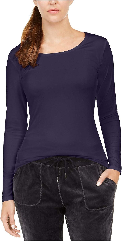 32 Degrees Women's Cozy Heat Underwear Top (Large, Heather Gothic Grape)