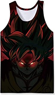 Broly/'s Gym Dragonballz DBZ gym singlet stringer fitness golds tank top strong