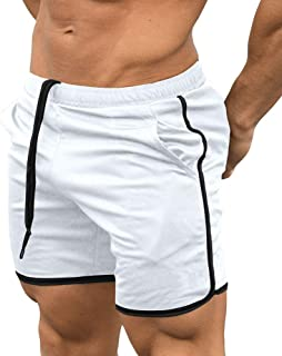 EVERWORTH Men's Gym Workout Boxing Shorts Running Short Pants Fitted Training..