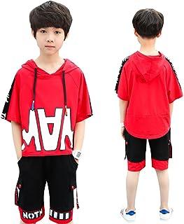子供服 2点 キッズ Tシャツ ハーフパンツ 半袖Tシャツ 半ズボン 男の子 ボーイズ 夏服 上下セット