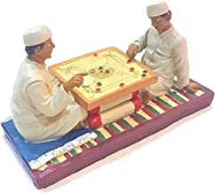 Me Boys Playing Carrom Sculpture - AL1376