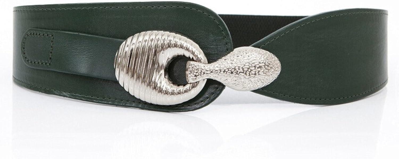 Ladies Hook Width Belt,Decoration Dress Belts Stretch Of tightness wild BeltB 74cm(29inch)