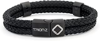 Magnetic Therapy Wristband from Trion:Z – Zen Loop Duo (Medium, Black)