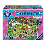 Orchard Toys-Orchard Partido de los Juguetes Rompecabezas Woodland (Multicolor), (269)