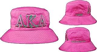 Alpha Kappa Alpha Embroidered Bucket Hat