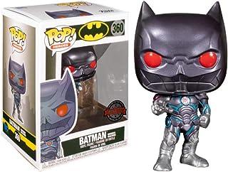 Funko Pop! Heroes: DC- Batman Murder Machine(MT)w/Chase (Exc), Action Figures - 36354