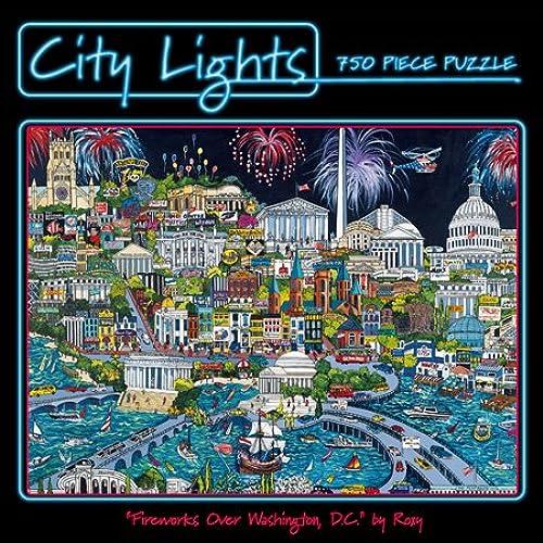Ceaco City Lights Las Vegas Gold Puzzle (750 ück)