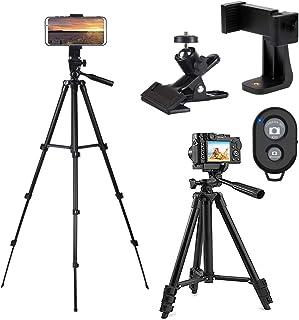 1067cm aleación de aluminio cámara portátil trípode universal teléfono trípode soporte soporte para Smartphones con Bluetooth disparador remoto y bolsa …