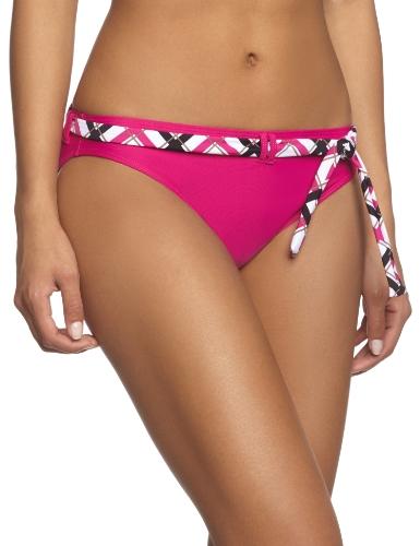 eleMar Damen Bikini Hose, Cyclam/Cyclam-Weiß-Schwarz, 42, 0-182-01