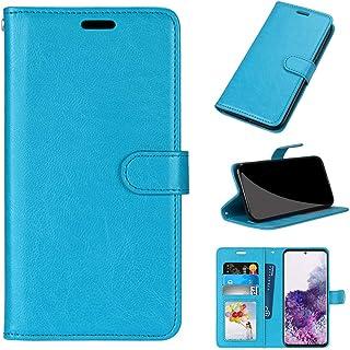 GARITANE Skal kompatibel med LG X Cam/K580, mobiltelefonfodral fodral med magnet kortfack skyddsfodral retro läderfodral (...