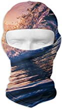 Jxrodekz Ski Mask Turning of The Tide Sun Customized Full Face Mask Motorcycling for Women and Men