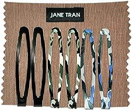 Jane Tran Assorted Camo and Solids Clip Set