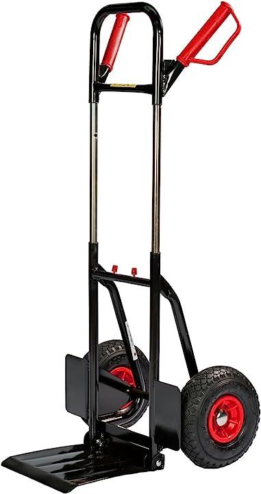Carrello manuale professionale 1-2 - 3, portata fino 200 kg pro-bau-tec 100054