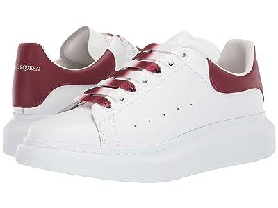 Alexander McQueen Oversized Sport Sneaker (White/Red) Men