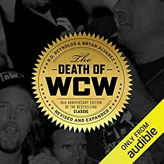 The Death of WCW audiobook cover art
